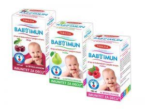 Baby Imun - Malina-Kruska-Visnja