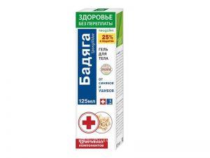 Badjaga sa arnikom gel za telo - Apoteka Biopharm