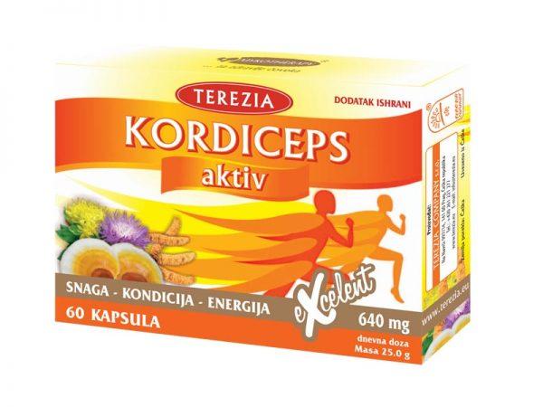 Kordiceps Aktiv - 60 Kapsula