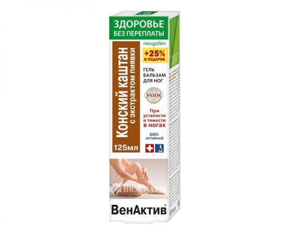 Venaktiv Divlji kesten gel-balzam za noge - Apoteka Biopharm