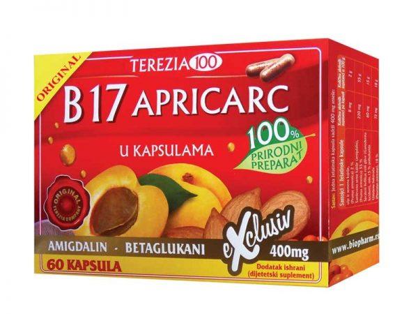 B17 Vitamin - Apricarc 60 Kapsula