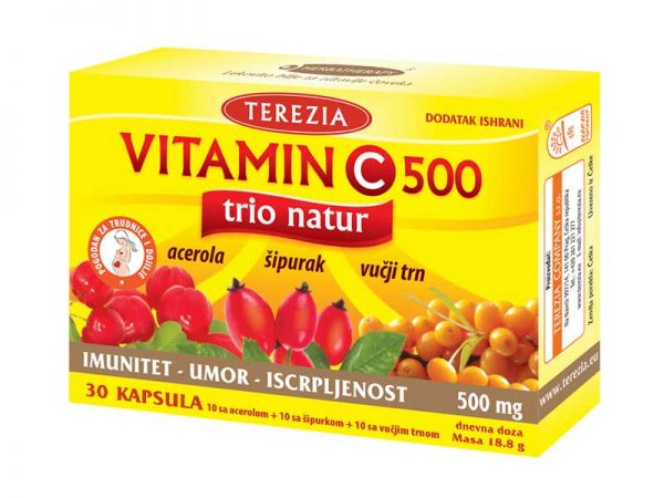 Vitamin C 30 kapsula